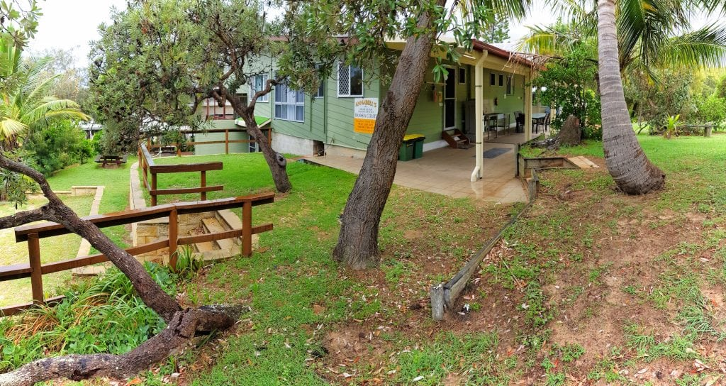 fraser island accommodation exterior design